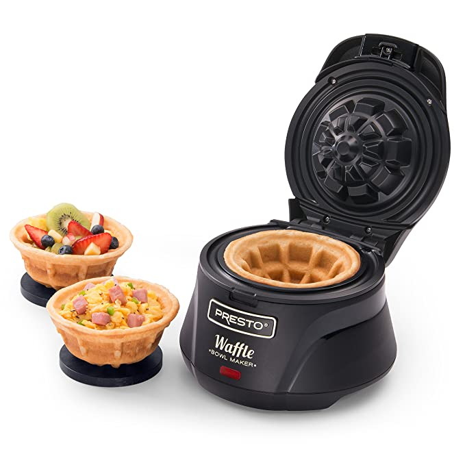 DEAL OF THE DAY! PRESTO BELGIAN WAFFLE BOWL MAKER NOW ONLY $22.49!