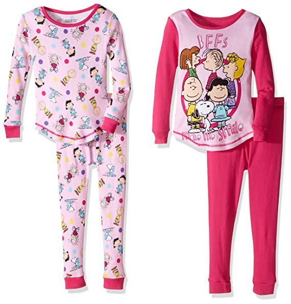 Amazon.com: Cacahuetes bebé 4pc de las niñas algodón Set ...