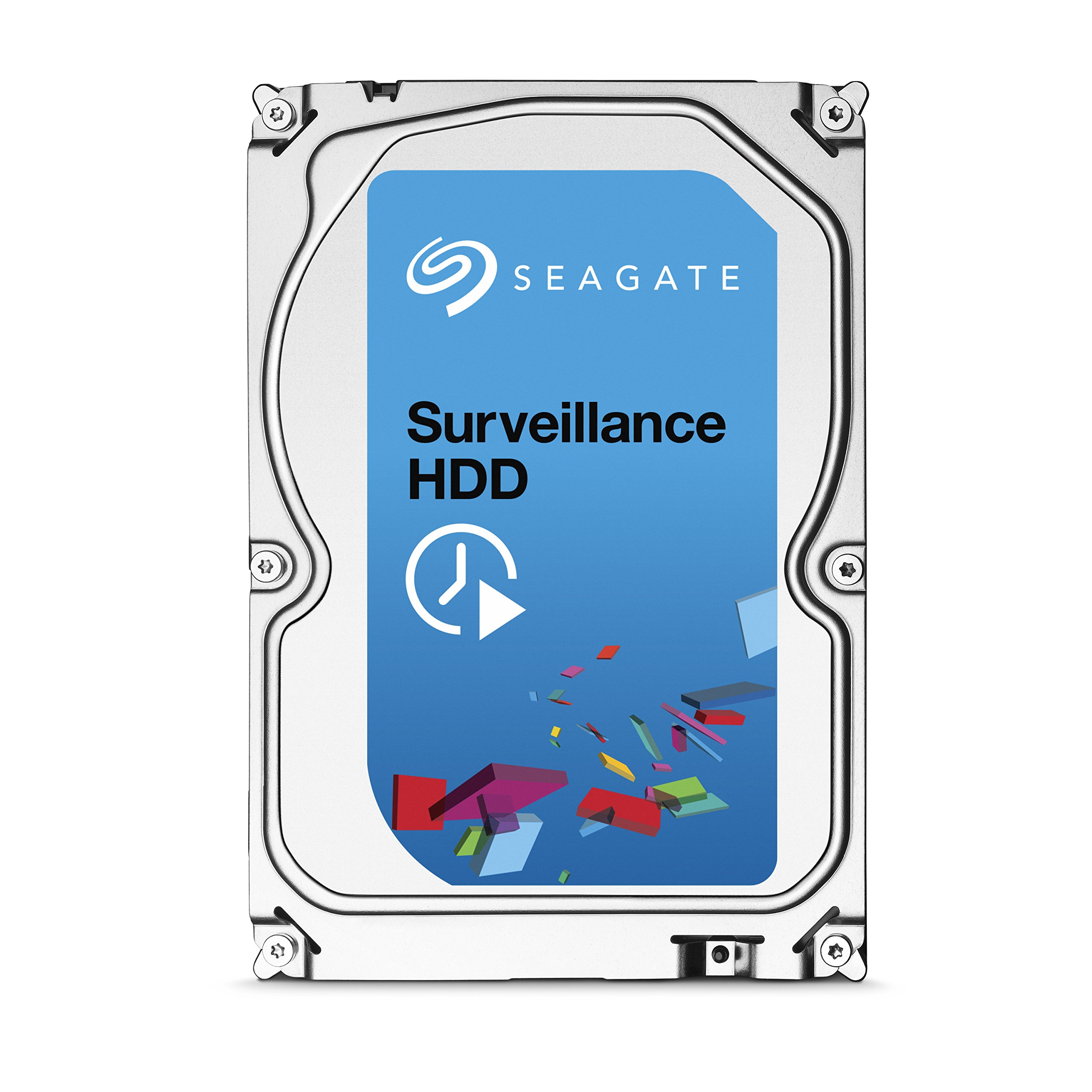 Seagate 3TB Surveillance Video HDD SATA 6Gb/s NCQ 64MB Cache 3.5-Inch Internal Bare Drive (ST3000VX002)