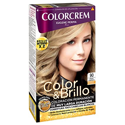 Colorcrem Color & Brillo Tinte Capilar Naturales Intensos Color Rubio Clarísimo