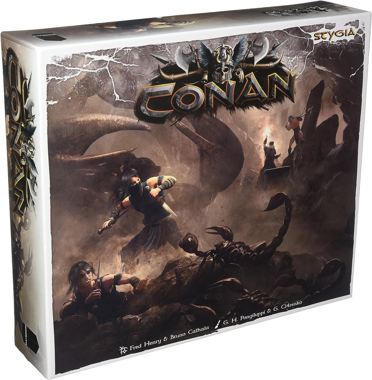 Asmodee – Juego de Tablero – Conan – Stygia, mocon23ml: Amazon.es ...