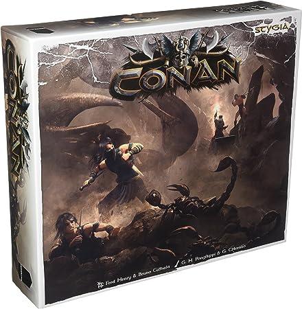 Asmodee – Juego de Tablero – Conan – Stygia, mocon23ml: Amazon.es: Juguetes y juegos