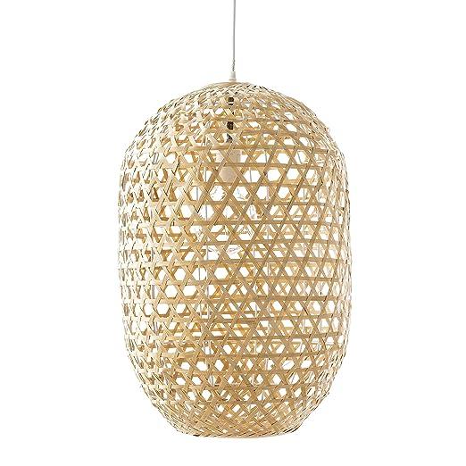 Kenay Home - Lámpara de Techo Jau Color Ratán Natural ...