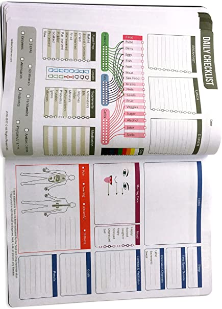 amazon com radiance planner personal lifestyle and nutrition