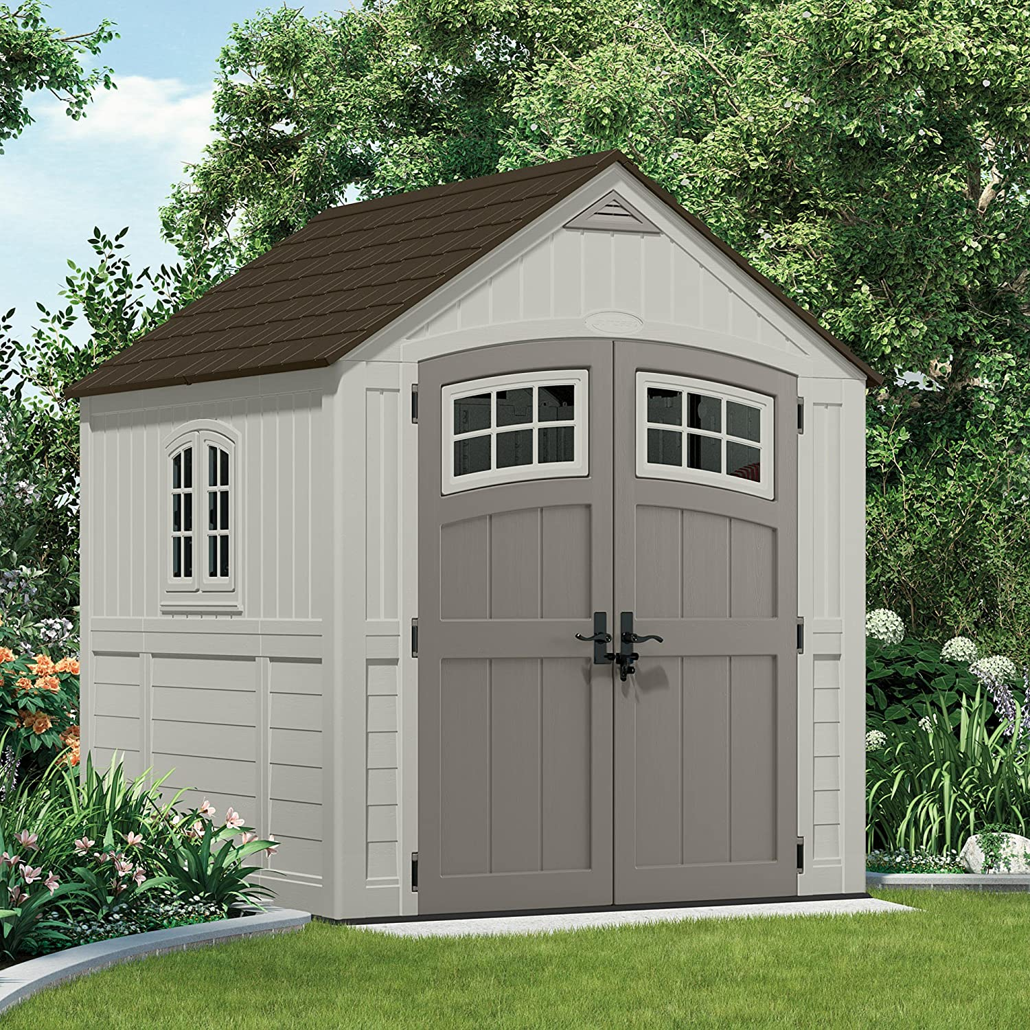 roughneck garden sheds shed plastic rubbermaid small designs vertical storage outdoor