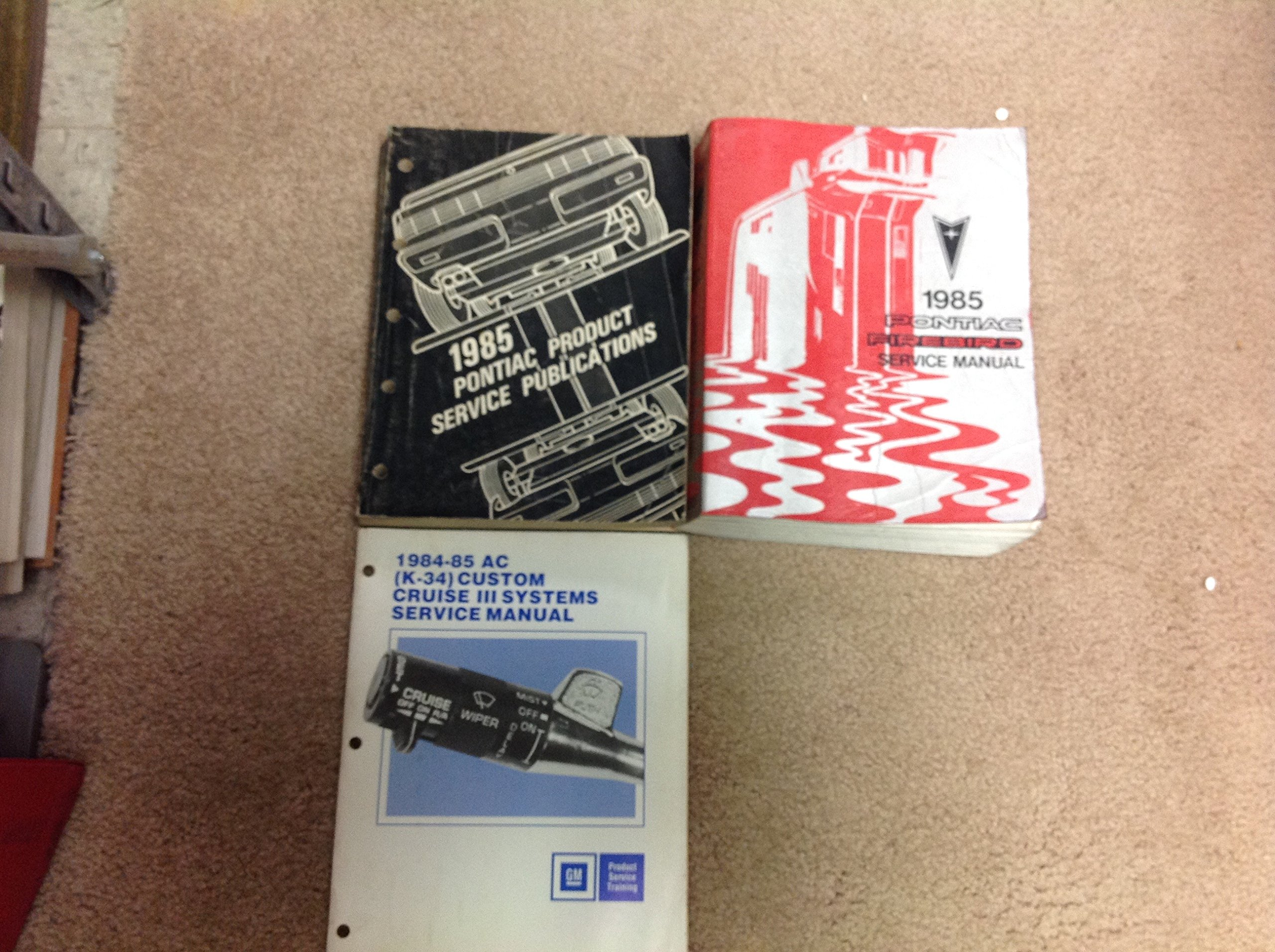 research.unir.net Motors Service & Repair Manuals 1985 Pontiac ...