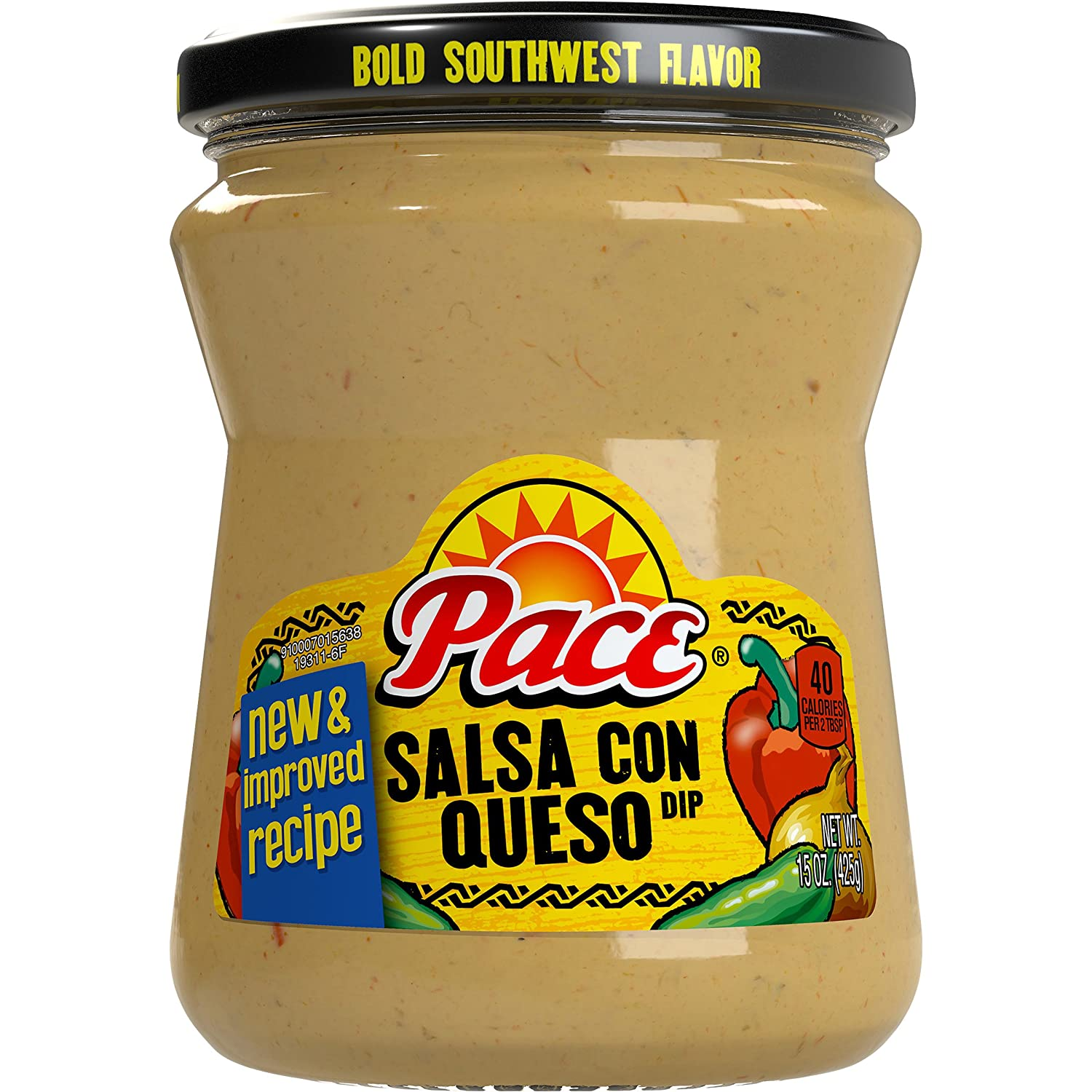 Amazon.com: Pace Salsa Con Queso, 15 Ounce (Pack of 6) (Packaging May Vary)