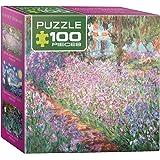 Eurographics Monet's Garden by Claude Monet Mini Puzzle (100 Pieces)