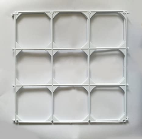 Amazon.com: 9 Cells Plastic Balloon Grids For Balloon Wall Art - 10 ...
