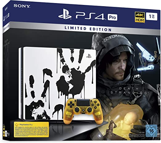 PlayStation 4 Pro Death Stranding Limited Edition - Konsole (1TB ...