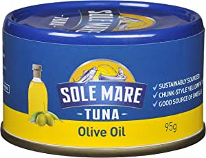 Sole Mare Tuna Olive Oil, 95g