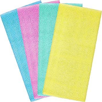 Beauty Skin Cloth Exfoliating Shower Bath Body Towel Wash Scrub Towel