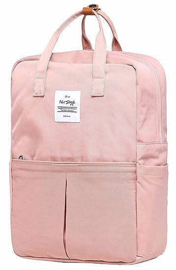 HotStyle 992s Minimalist College Travel Backpack   Unisex   Holds 15-inch  Laptop - Mistyrose 70aa3b977e