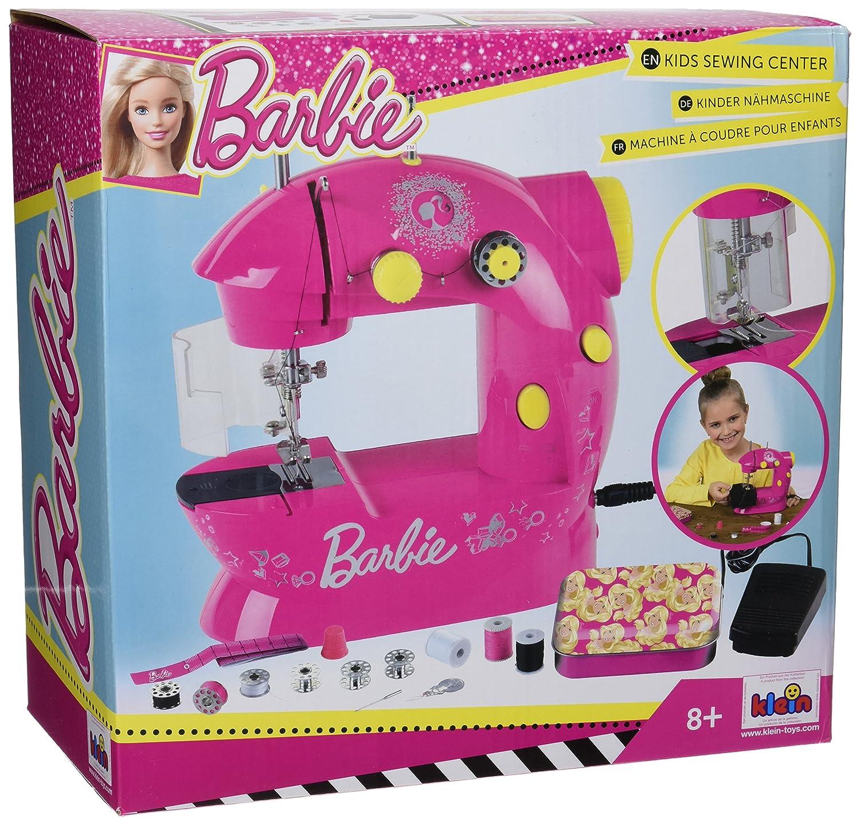 Theo Klein 7910 - Barbie Máquina De Coser para Niños - Funcionando con Pilas -: Amazon.es: Juguetes y juegos