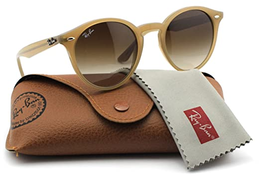 ce638beff7a Image Unavailable. Image not available for. Color  Ray-Ban RB2180 616613  Round Turtledove Frame   Brown Gradient Lens 49mm