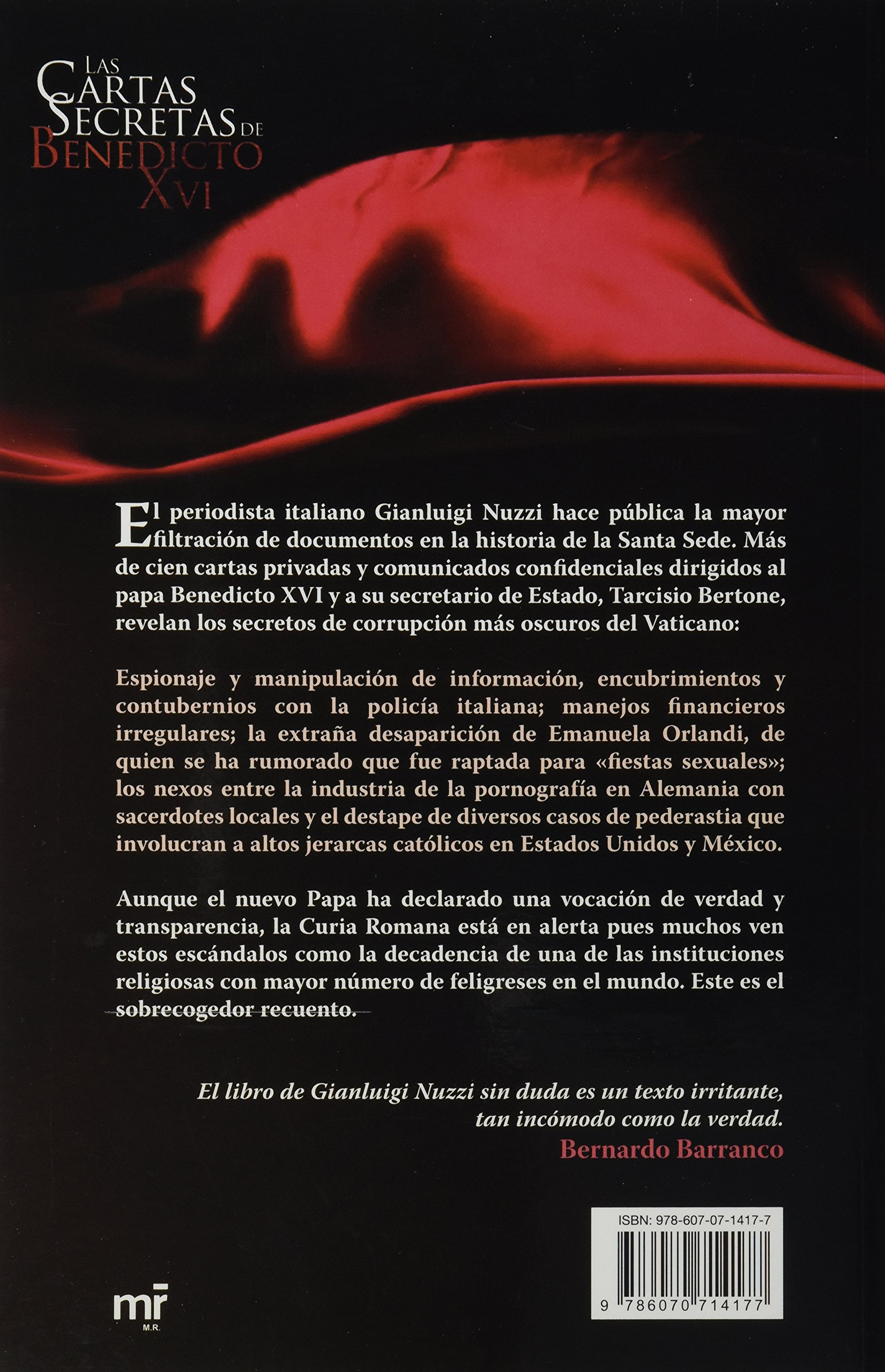Las cartas secretas de Benedicto XVI (Spanish Edition ...