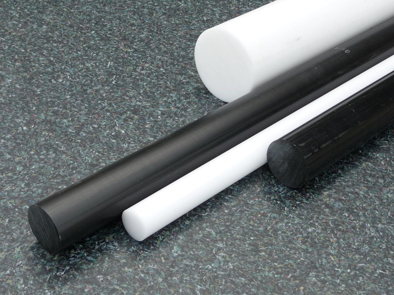 Teflon Barre tondo PTFE bianco /Ø 10 mm lungo 1000 mm PTFE compatto