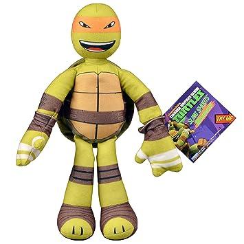 Teenage Mutant Ninja Turtles Sling Shout Michelangelo Plush ...