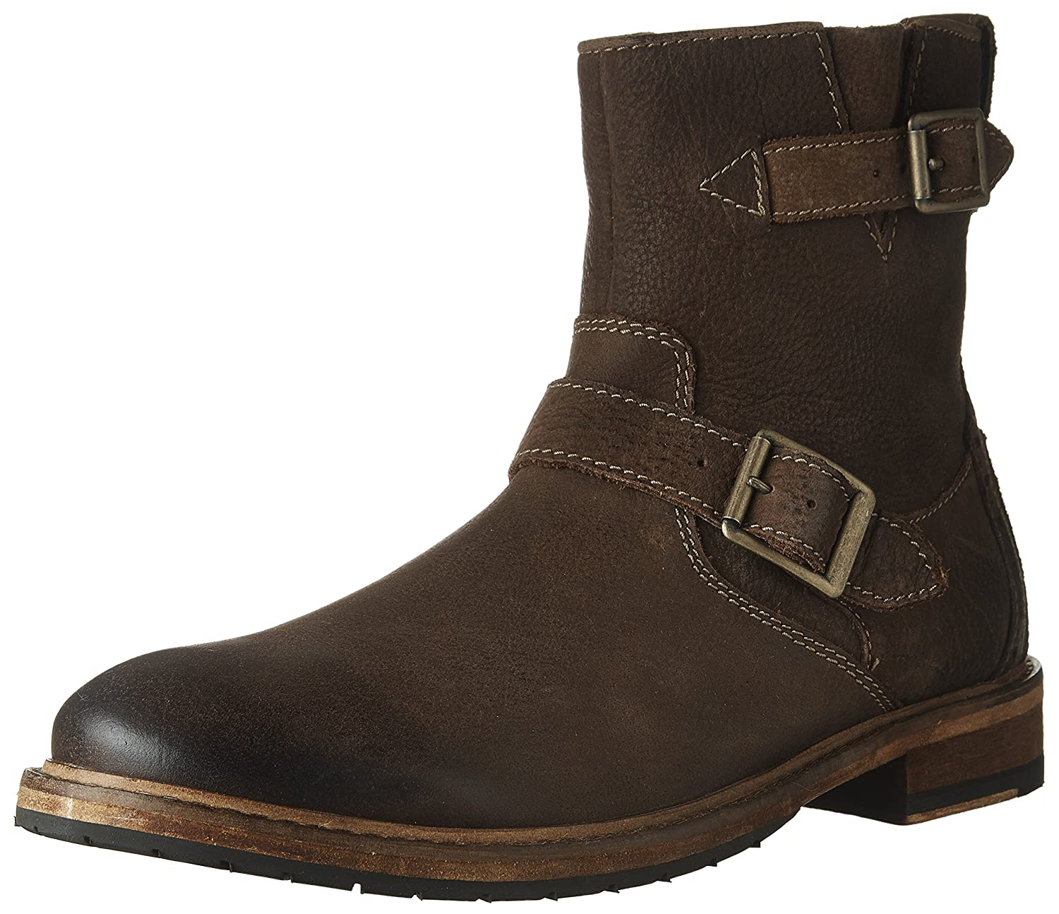 a79364fbbd537 Clarks Mens Clarkdale Cash High Boot Brown Nubuck 7.5 D(M) US  Buy Online  at Low Prices in India - Amazon.in