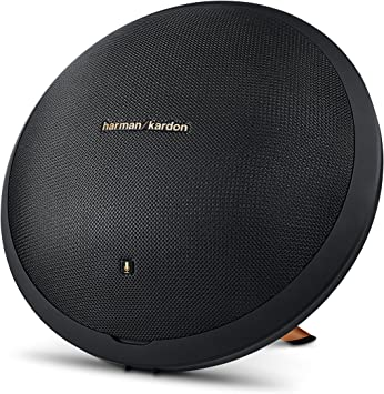 Harman Kardon Onyx Studio 8 Wireless Speaker System with Rechargeable  Battery and Built-in Microphone,Black