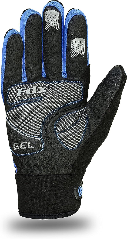 para pantalla t/áctil FDX dedos completos Guantes de ciclismo para el invierno resistentes al viento