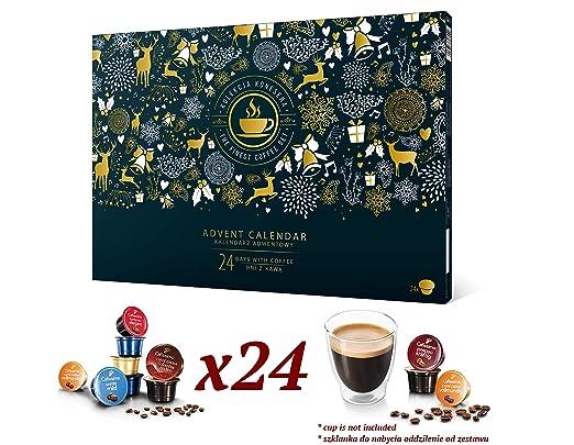 poznajsmaki.pl Calendario de Adviento de café con cápsulas ...