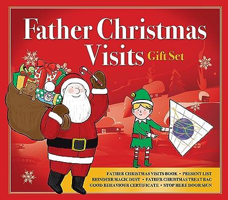 Father Christmas gift set present list reindeer dust I\'ve been good ...