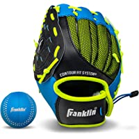 Franklin Sports Teeball Glove - Left and Right Handed Youth Fielding Glove - Neo-Grip - Synthetic Leather Baseball Glove…