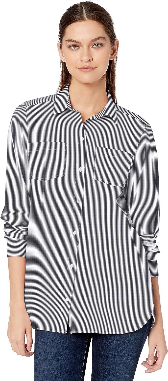 Camicia Leggera Con Due Tasche. Marchio button-down-shirts Donna Goodthreads