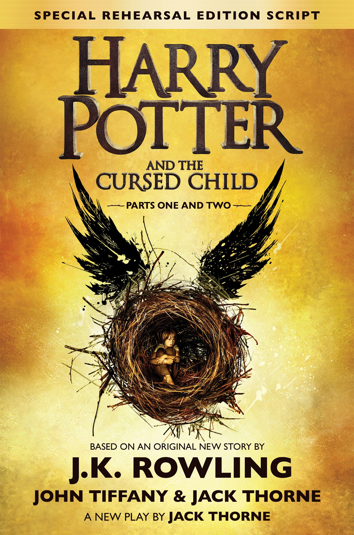 Image result for harry potter and the cursed child book cover