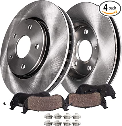 Front Rotors Ceramic Pads For 1997 1998 1999 2000 2001 2002 Expedition Navigator