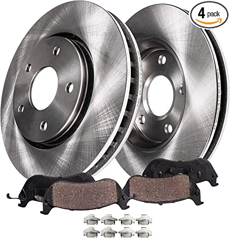 Rear Brake Calipers /& Rotors Ceramic Pads For Fusion Lincoln MKZ 2006-2012
