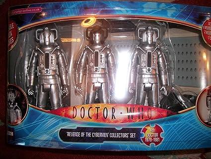 Amazon.com: Doctor Who la venganza de los Cybermen figura de ...
