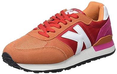 Kelme Charles, Sneakers Basses Femme, Beige (Maquillaje/Red), 41 EU