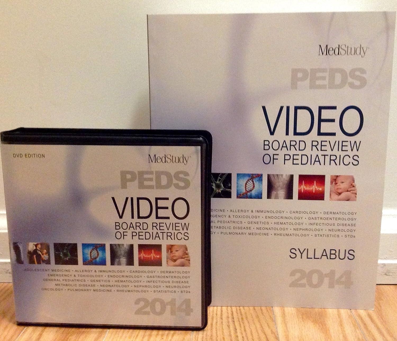 Amazon com: Medstudy 2014 Video Board Review of Pediatrics (DVD