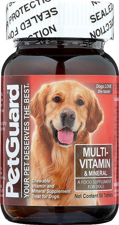 Amazon.com: Pet Guardia 50 Tabletas multi-vitamin/Multi ...