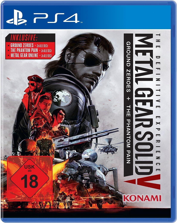 Metal Gear Solid V: The Definitive Edition [Importación Alemana]: Amazon.es: Coche y moto