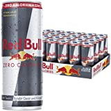 Red Bull Energy Drink Zero CALORIES, 24 unidades, desechables (24 x 250 ml)