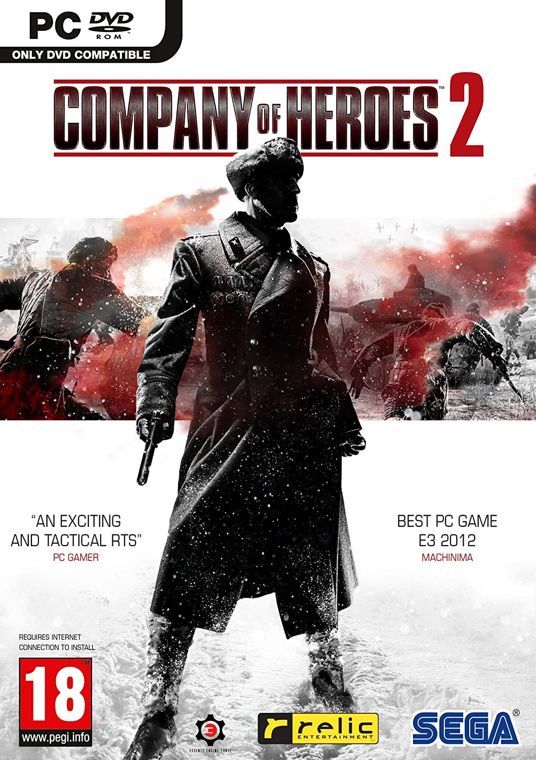 Amazon Com Company Of Heroes 2 Pc Dvd Video Games