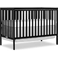 Dream On Me Synergy 5 in 1 Convertible Crib, Black
