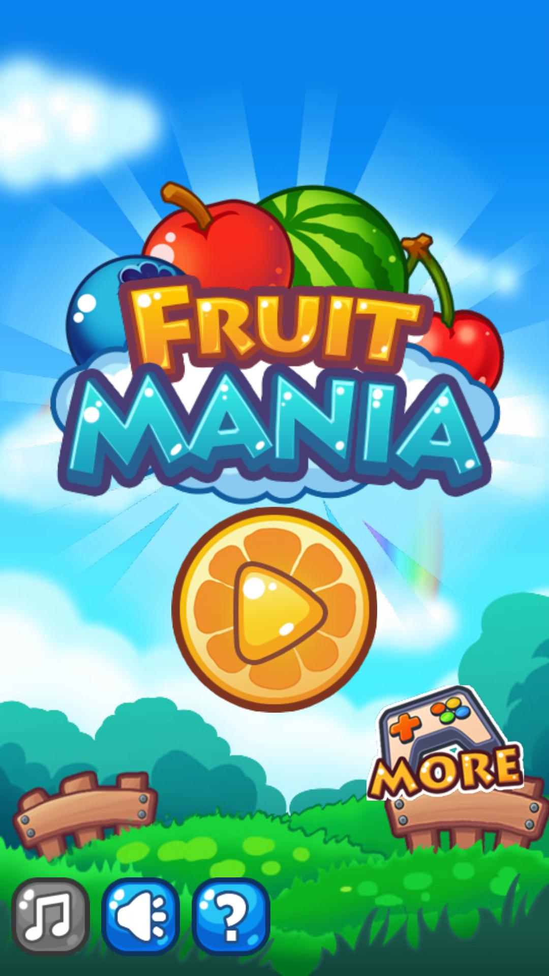 Fruits Mania Game