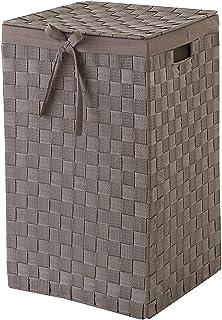 JAMITE Cesto De la Ropa,Tina De Lavar,Cesto Grande De Ropa Sucia con Cord/ón,Capacidad De 100 litros,50 x 40 x50 cm