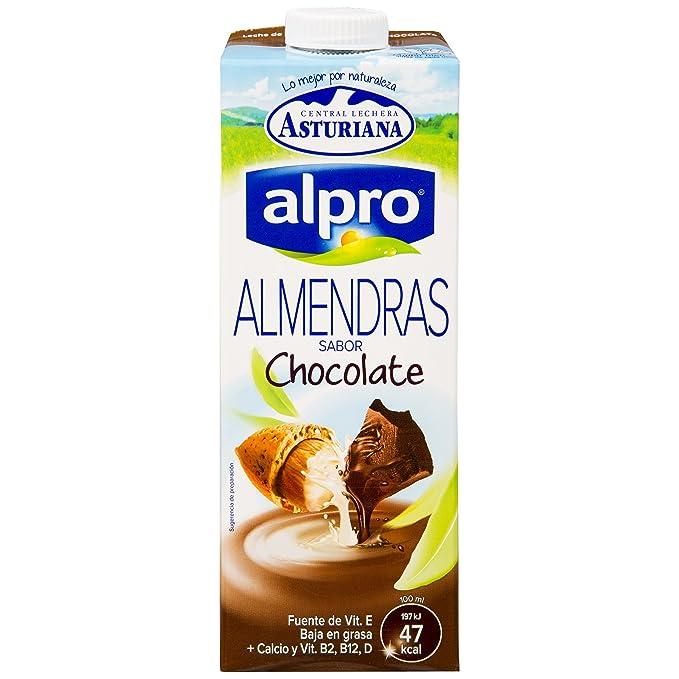 Alpro Central Lechera Asturiana Bebida de Almendra Chocolate - Paquete de 8 x 1000 ml - Total: 8000 ml: Amazon.es: Alimentación y bebidas