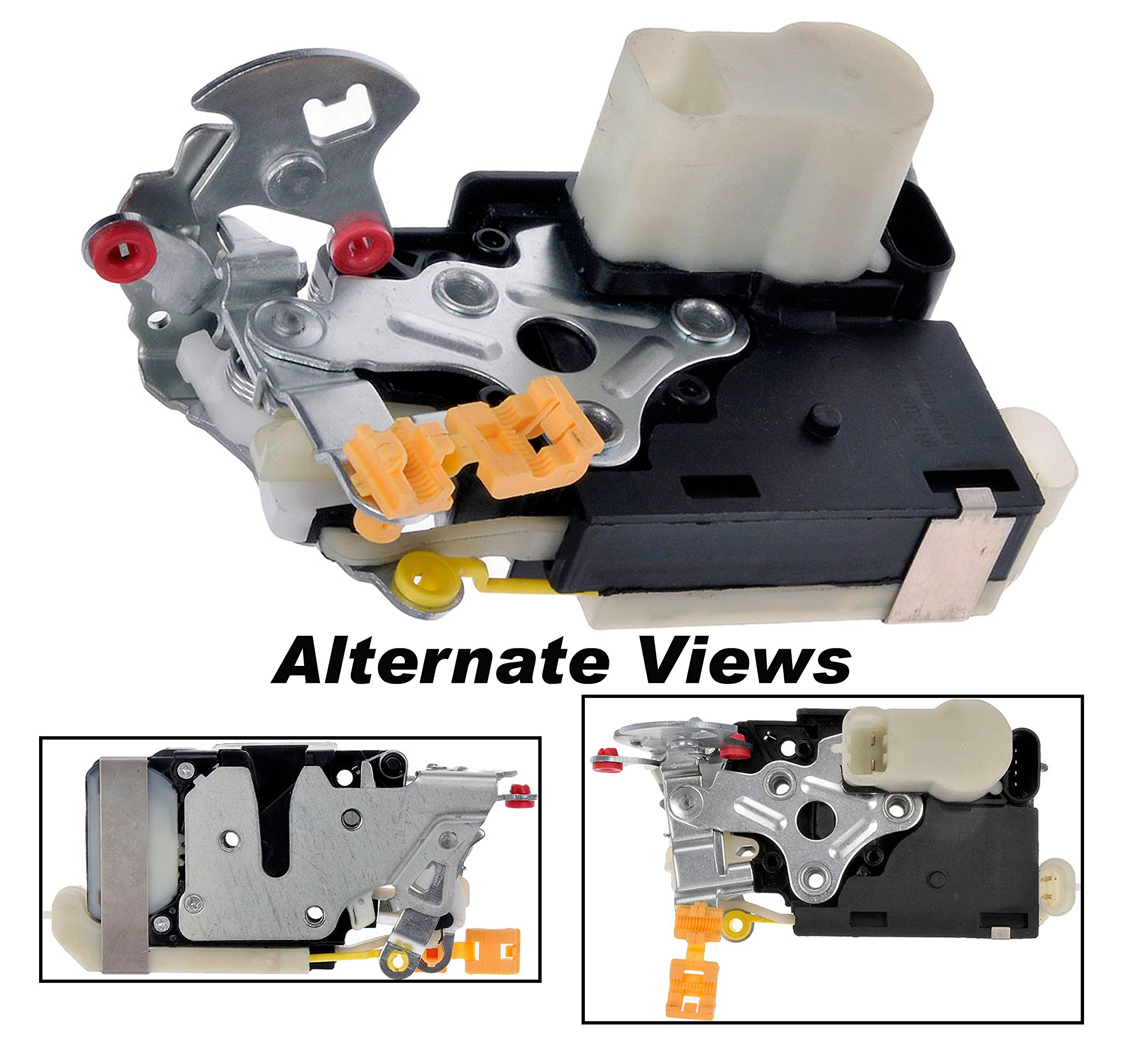 APDTY 112659 Door Lock Actuator Motor w/ Integrated Latch Assembly Front Left (View Chart For Specific Years) Lesabre Escalade Avalanche Silverado Pickup Suburban Tahoe Sierra Pickup Yukon Bonneville (Replaces 15053681, 15068499, 15110643) by APDTY