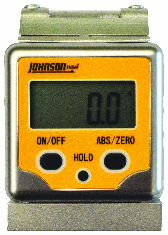 Johnson Level /& Tool 1886-0400 Magnetic Digital Angle Locator