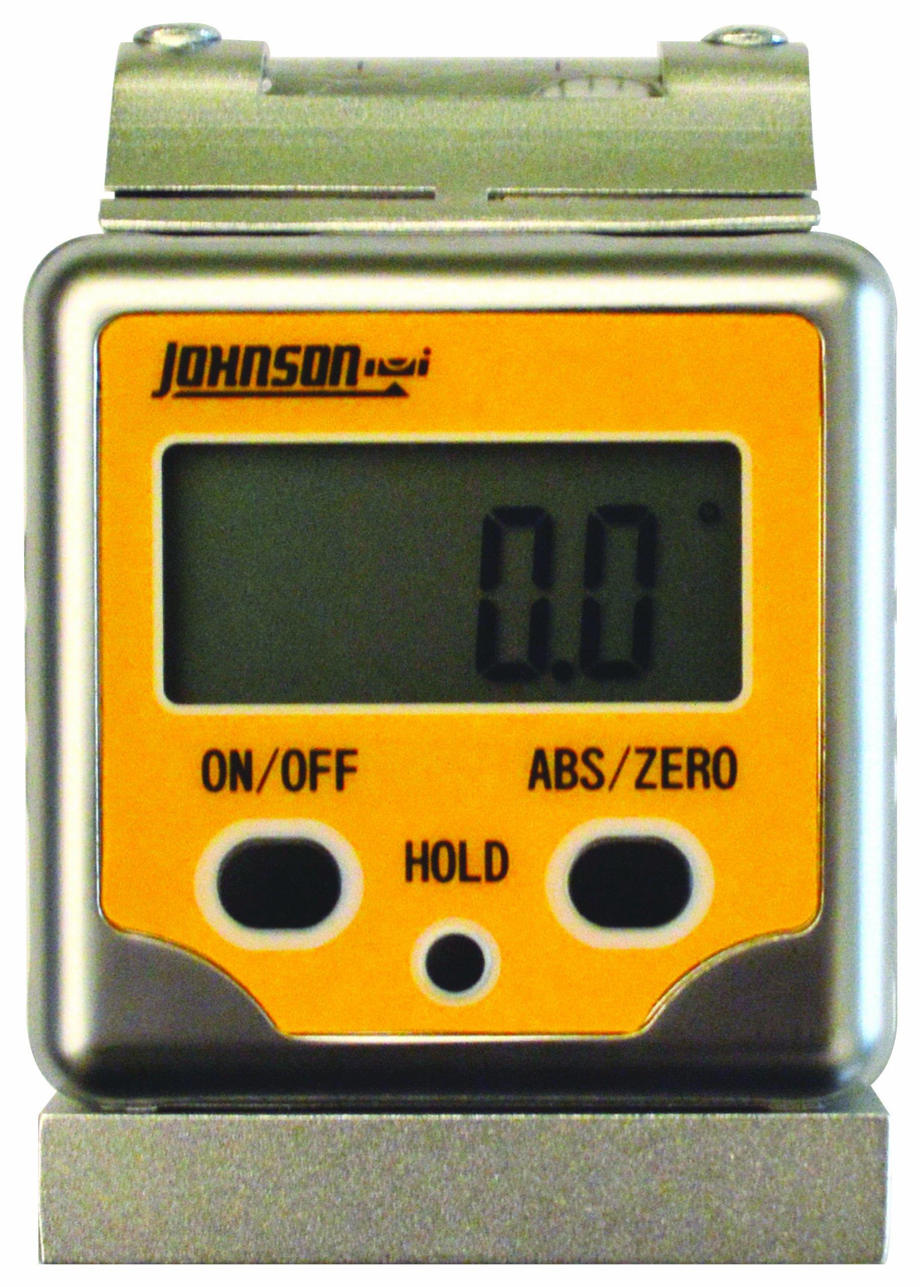 Johnson Level & Tool 1886-0400 Magnetic Digital Angle Locator