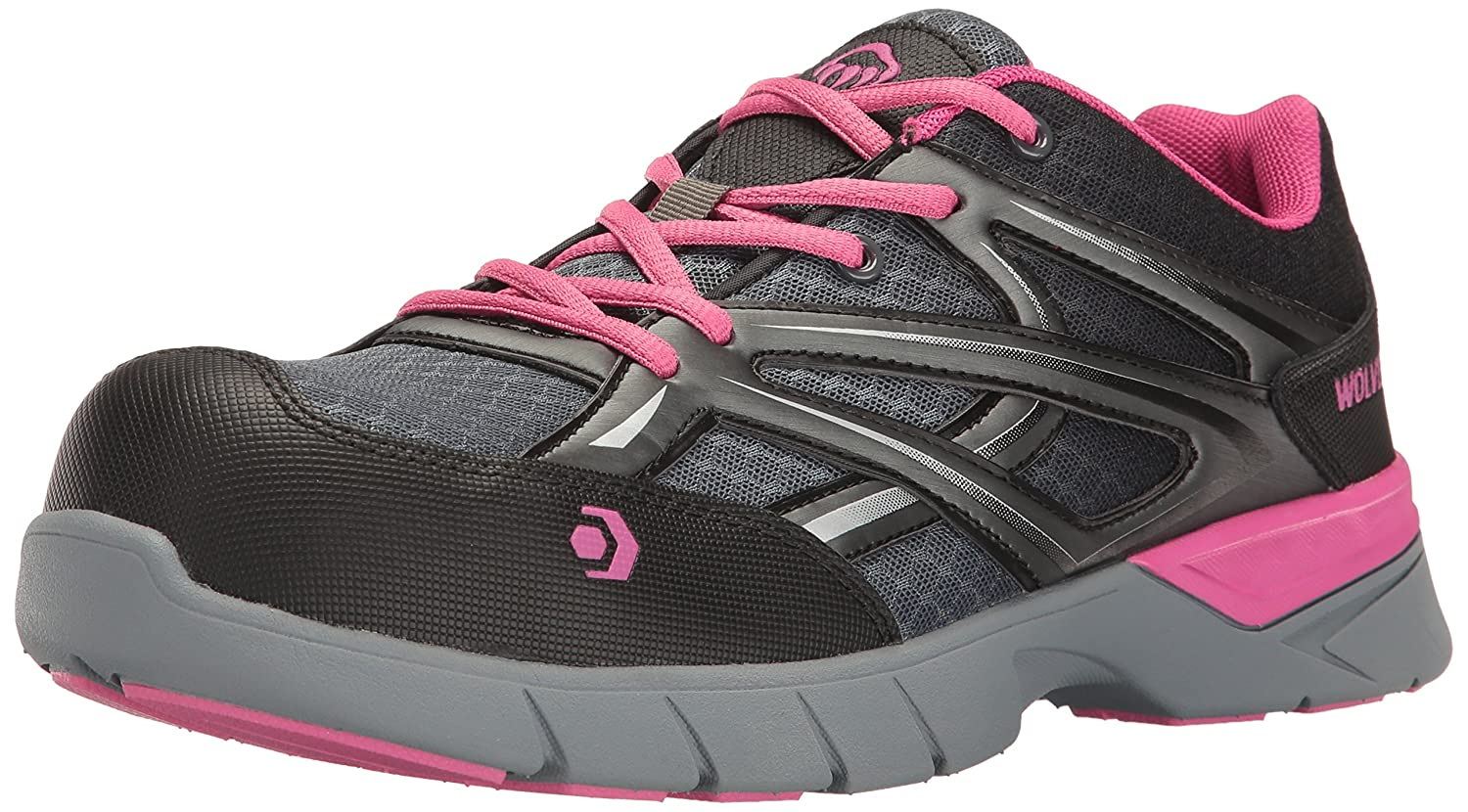 4adee63a198 Wolverine Women's Jetstream Athletic Comp Toe Work Shoe