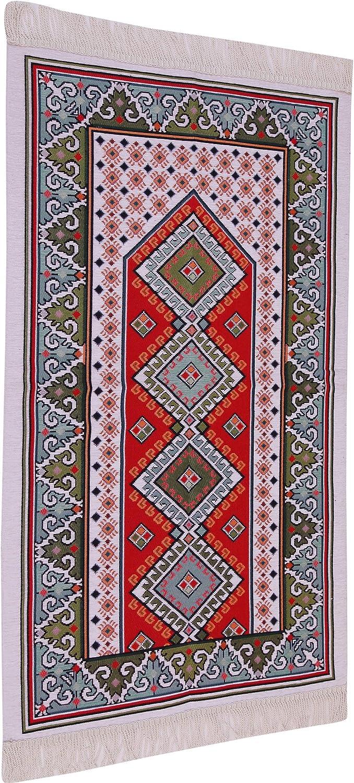YOORID Tapis de pri/ère Musulmane Sajjad Plusieurs vari/ét/és Moderne Lavande
