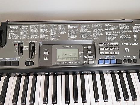 Casio CTK-720 Teclado Musical de 61 Teclas