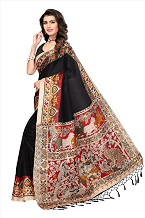 22959bac7f321 Softieons Ecommerce Women s Mysore Silk Designer Printed Saree With Blouse  Piece (SOFT 138 VAR) sarees for women ...